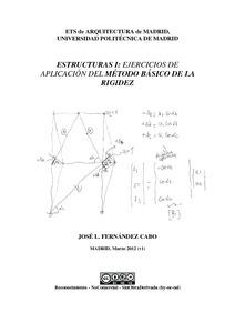 Estructuras i ejercicios de aplicaci n del m todo b sico - Ets arquitectura madrid ...