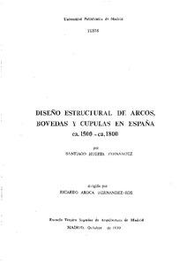 Dise O Estructural De Arcos B Vedas Y C Pulas En Espa A