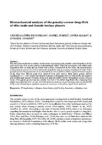Study sports biomechanics pdf
