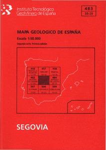 Segovia gu a mapa geol gico de espa a e 1 for Oficina de empleo de segovia