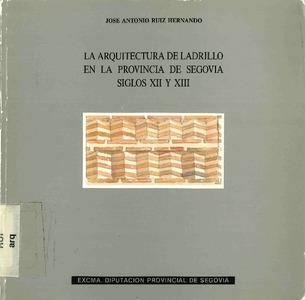 La arquitectura de ladrillo en la provincia de segovia for Historia de la arquitectura pdf